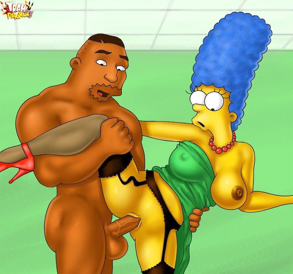 Marge Simpson, une vraie salope en fait !!!