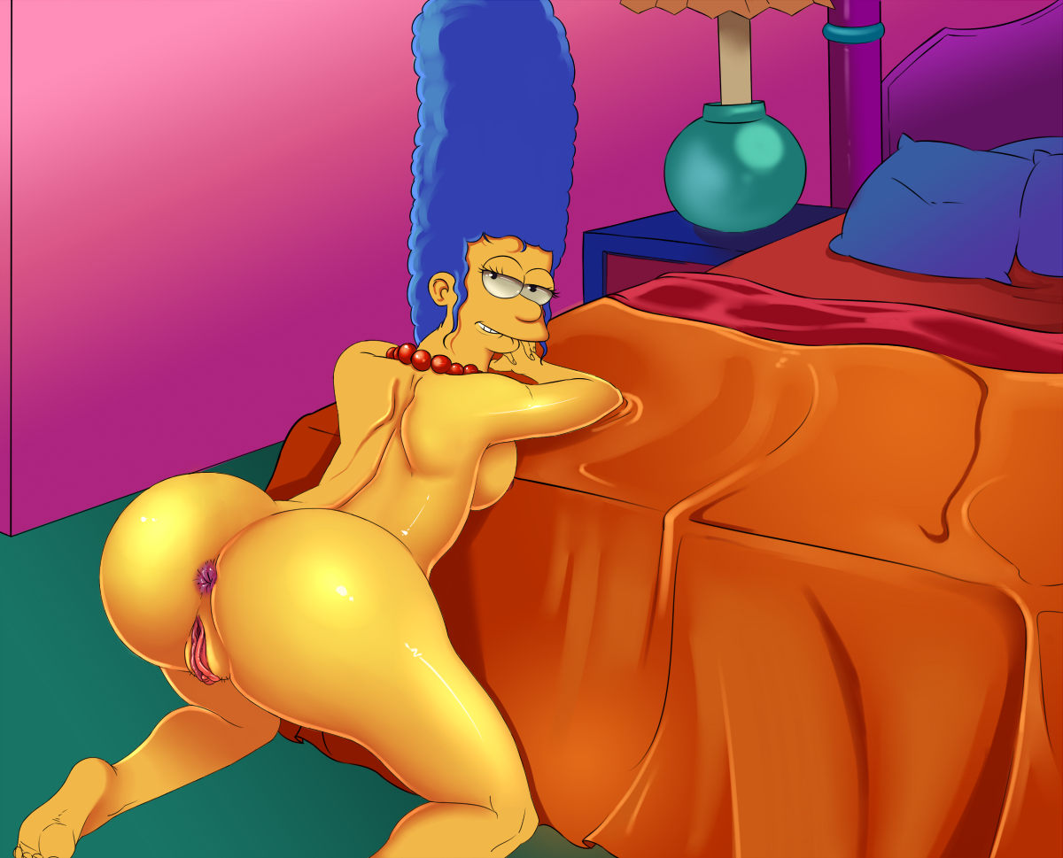 Marge simpson la salope (1)
