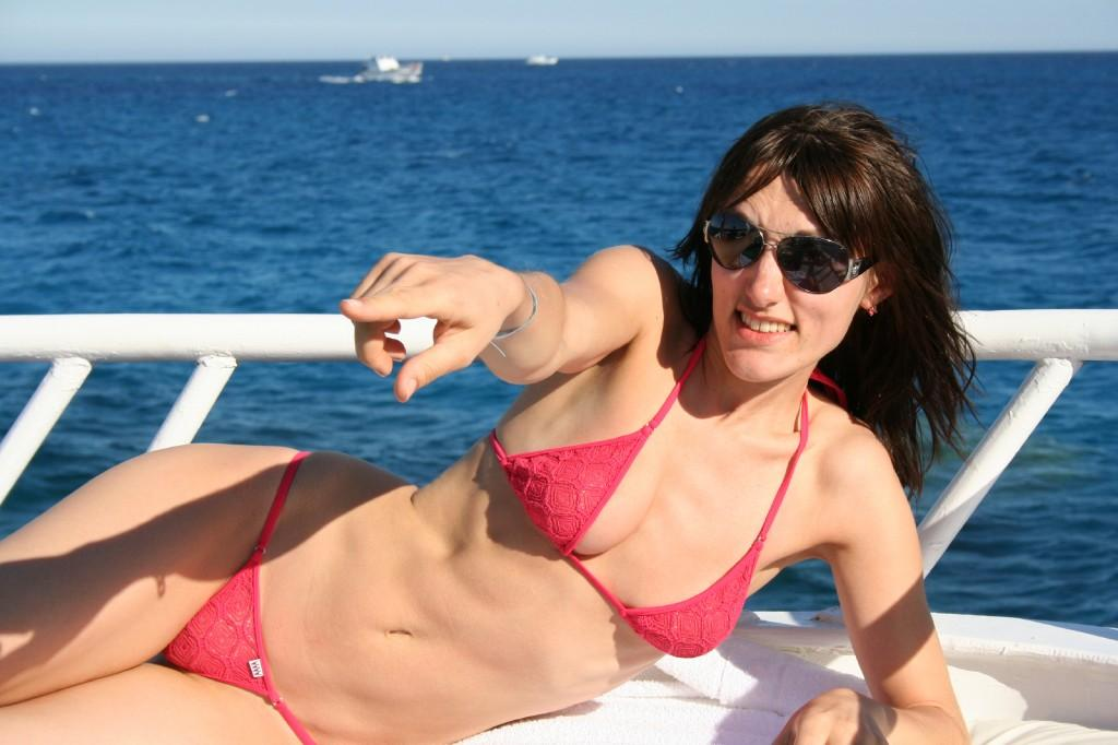 Bikini chaud fille russe