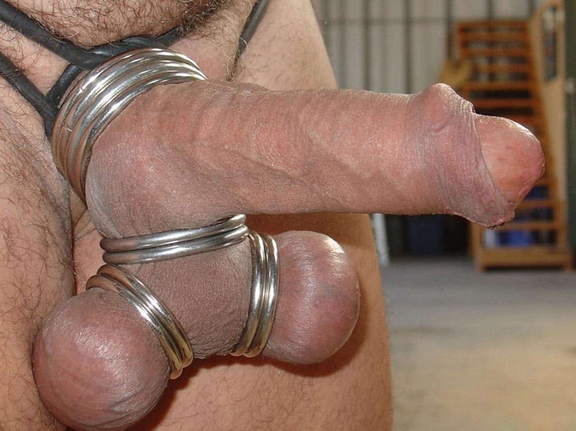 Cock and ball bondage porn pics