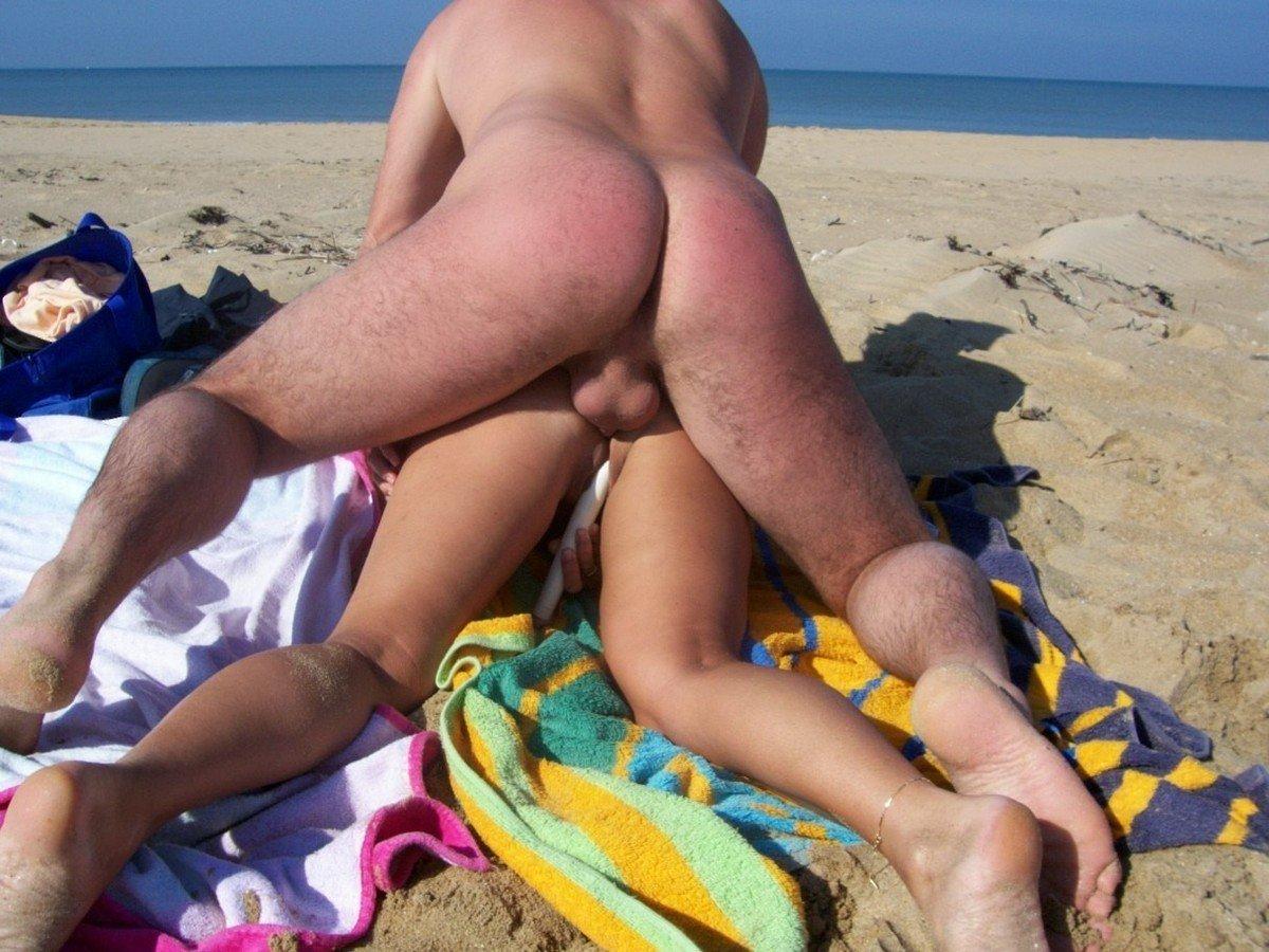 Couple Qui Baise Sur La Plage - 4Plaisircom-4907