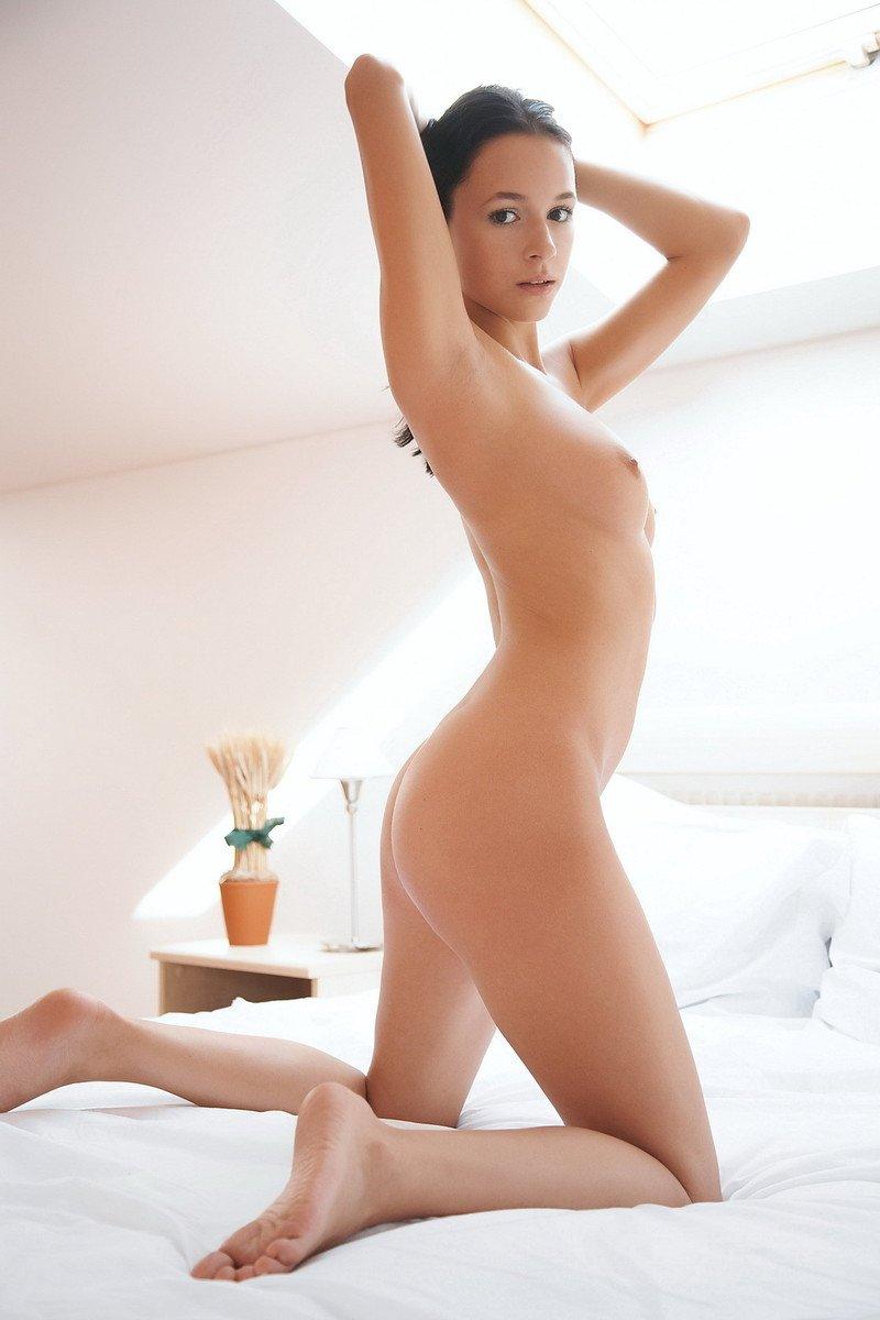 jeune brune rasée (2)