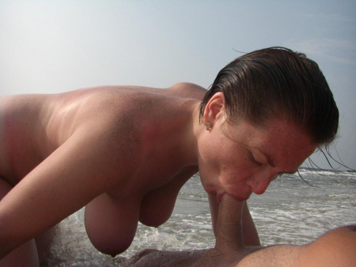 Gif beach milf
