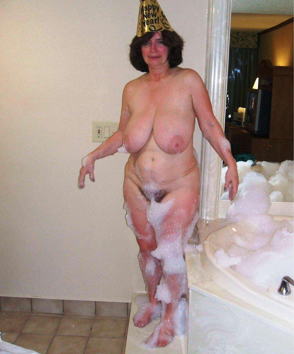 vieille poilue bain (1)