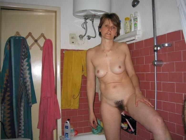 vieille poilue bain (13)
