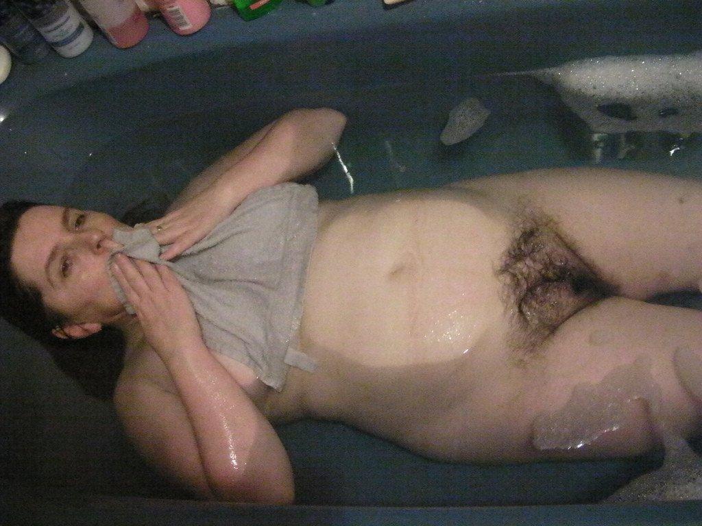 vieille poilue bain (14)