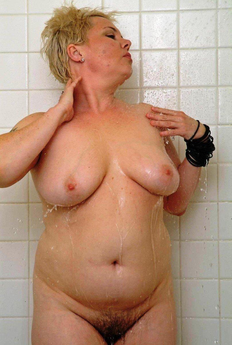 vieille poilue bain (4)