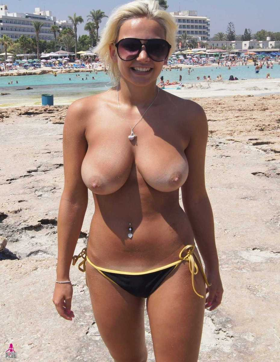 milf mature topples on beach