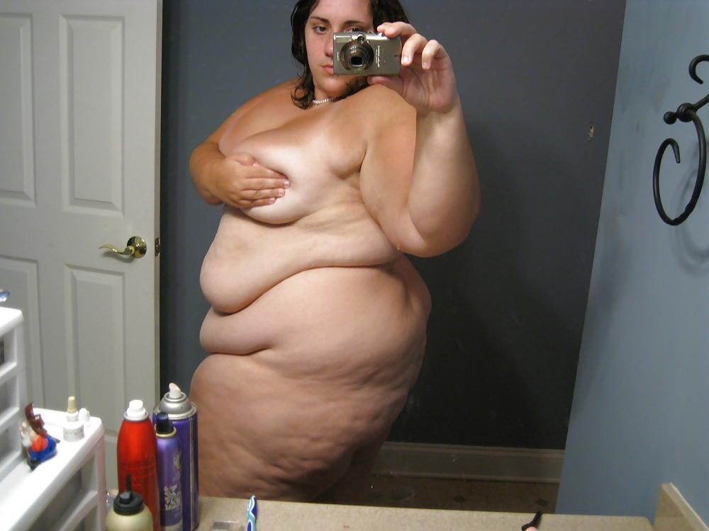 Quand des grosses amatrices se prennent en photos