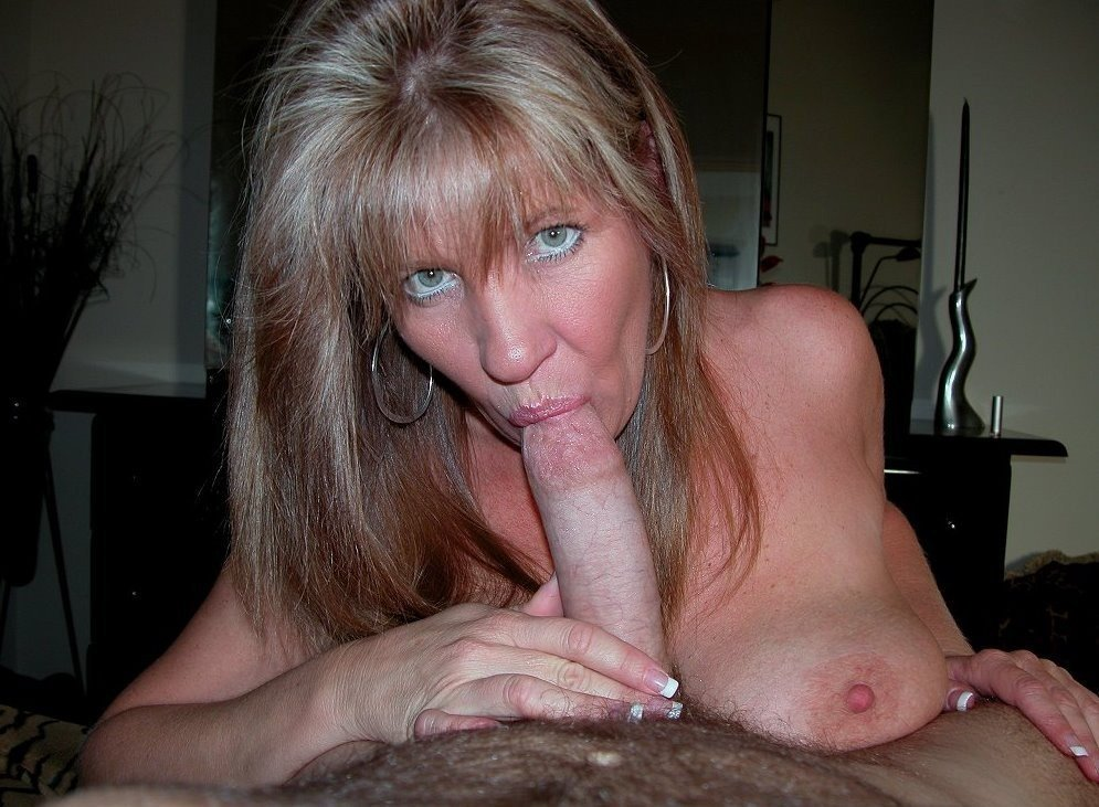 mom sucking my cock