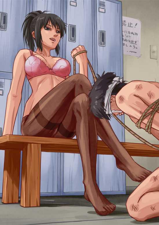 salope hentai bandante collant (1)