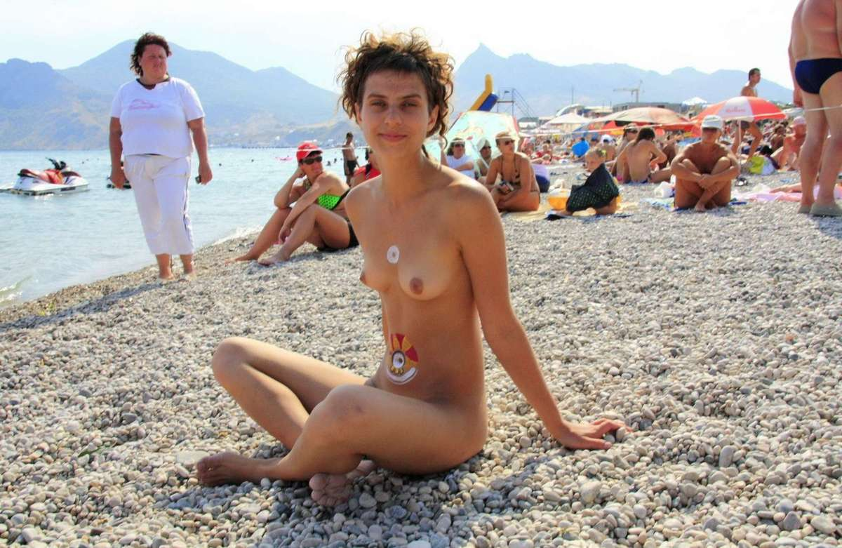 body painting plage (10)