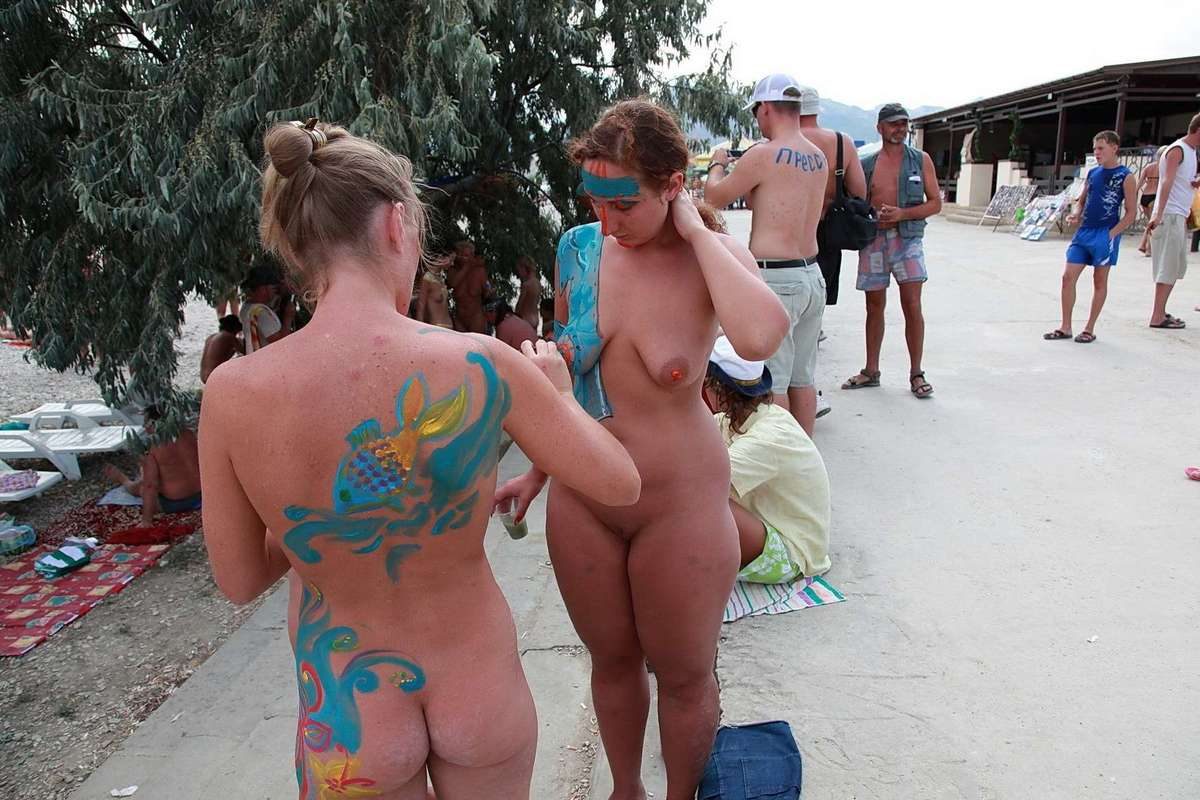body painting plage (18)