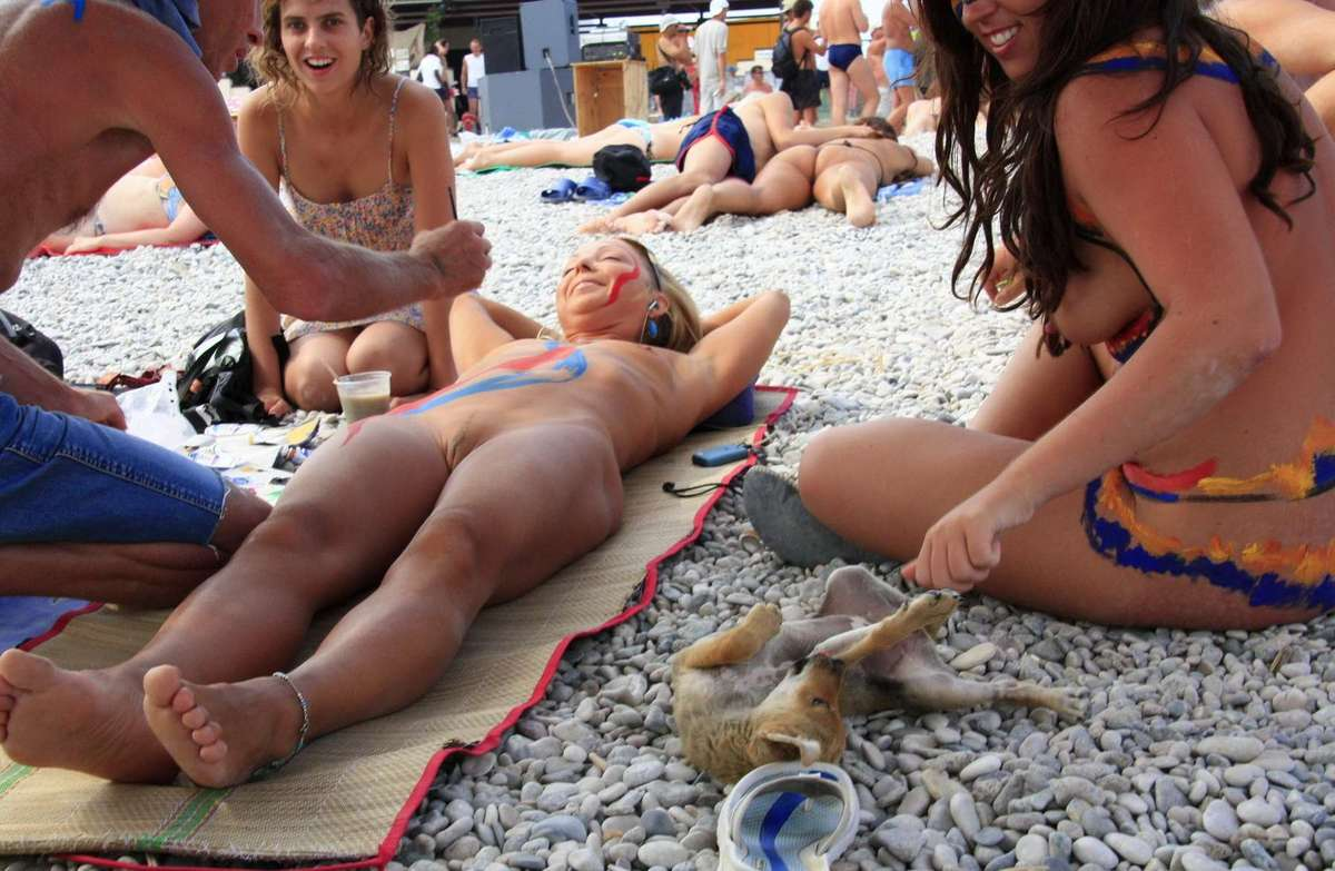 body painting plage (19)