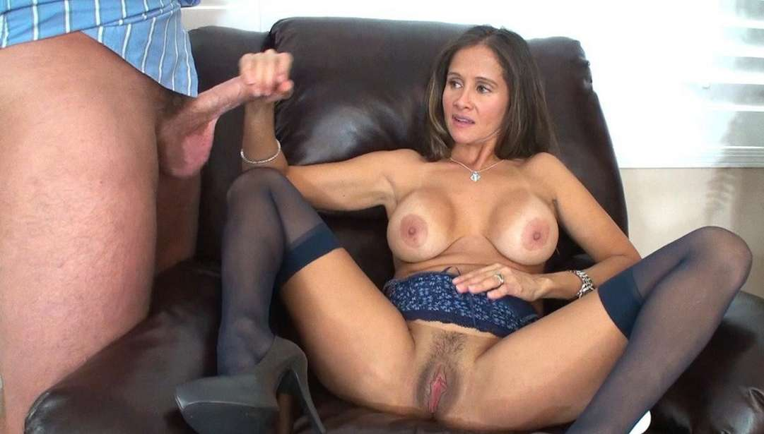 Brunette Milf Fucking Hung Celebrity Slips 1