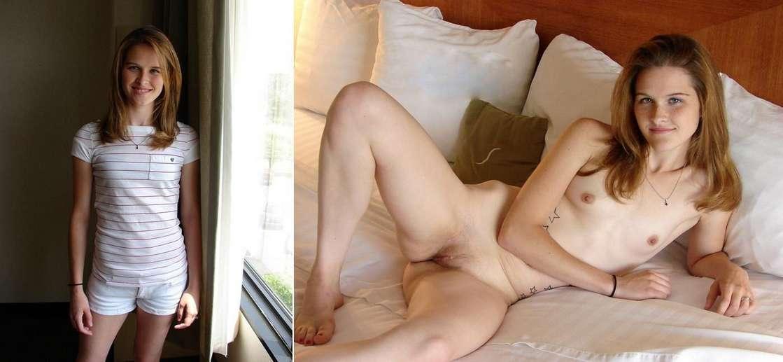 avant habillee apres chatte nue (2)