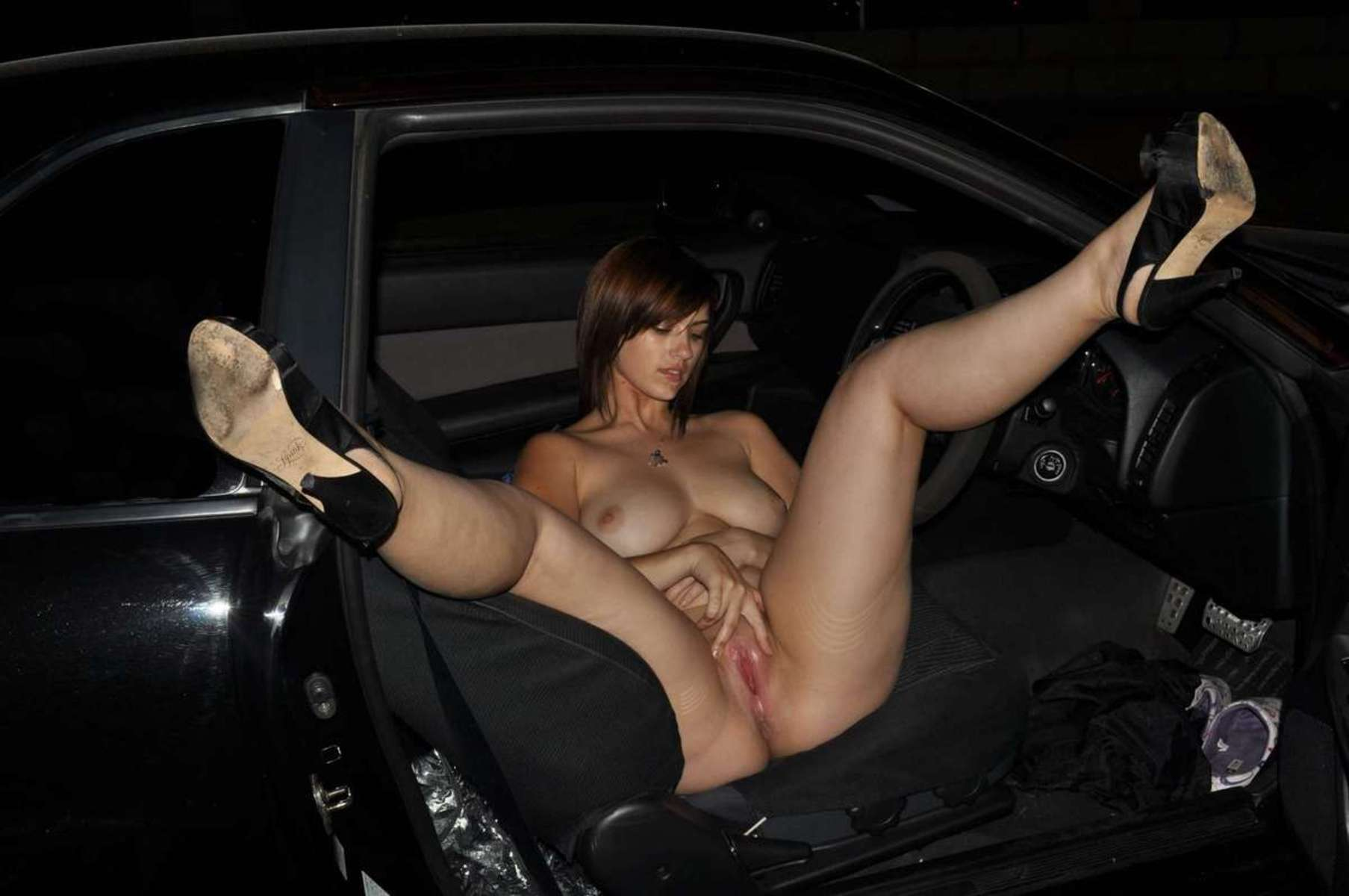 chatte voiture (2)