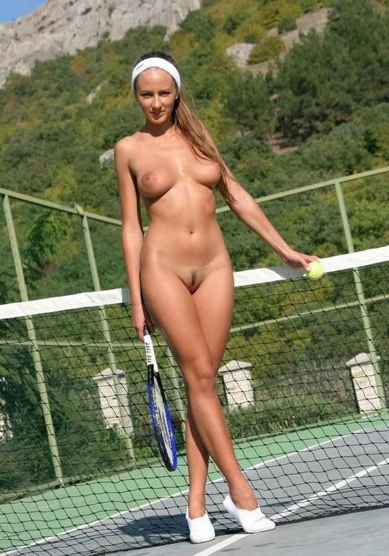 sexy girls in tennis shoes naked