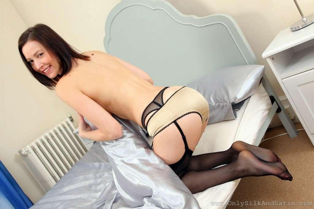 brune sexy collant (23)