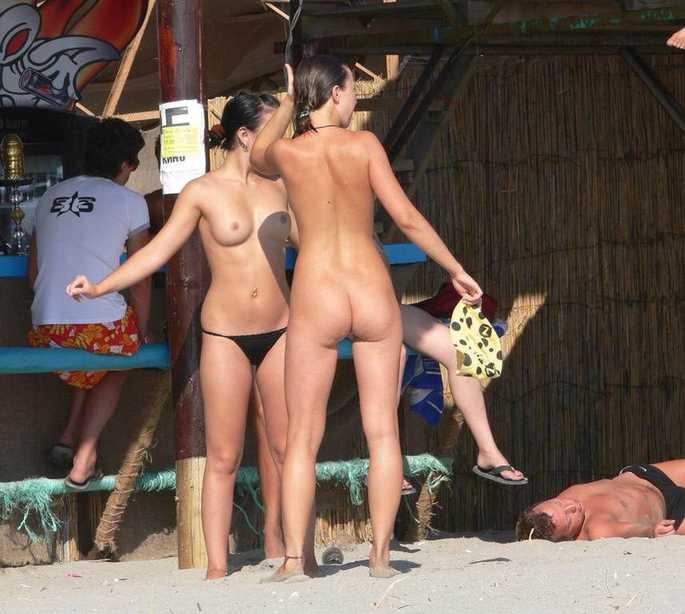 fille amateur sexy plage naturiste voyeur