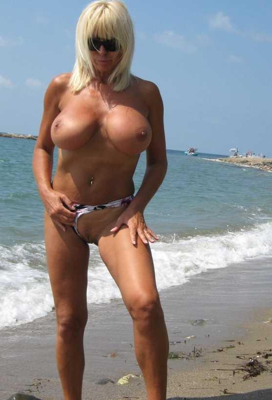 exhib à la plage sextape cougar