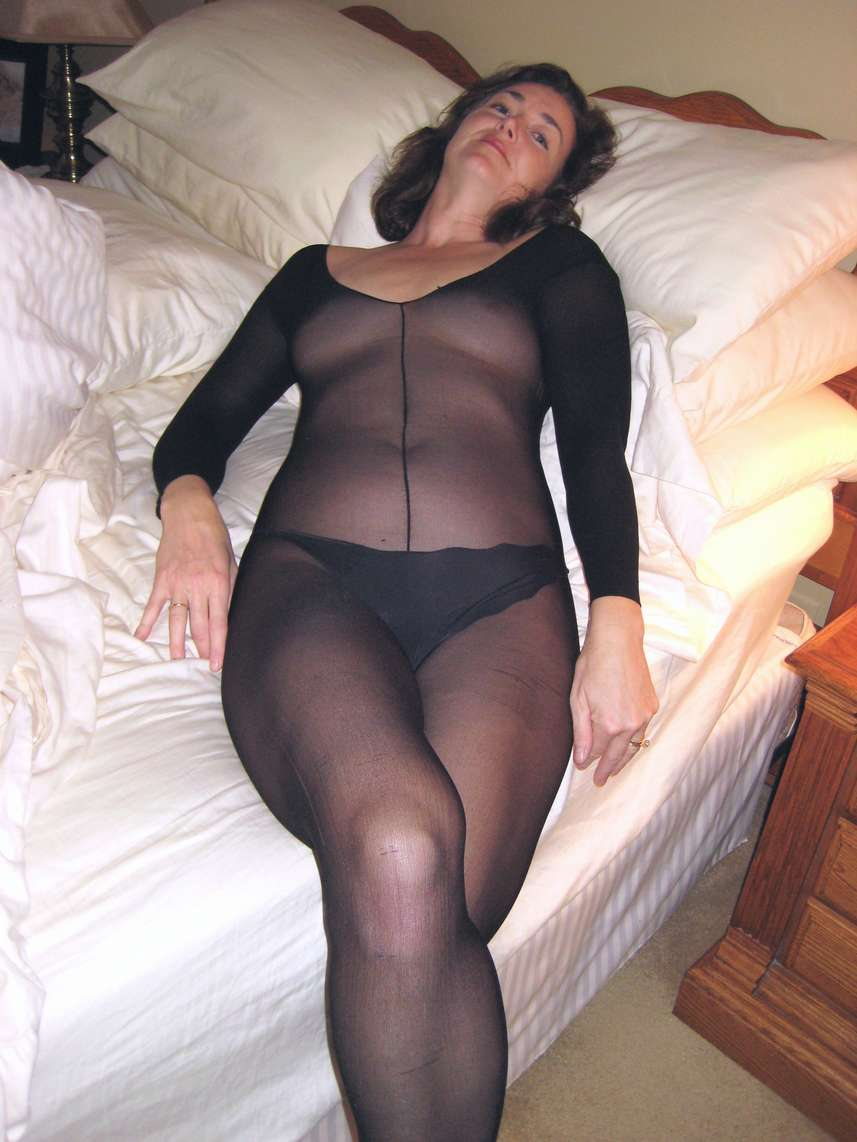 Mamans matures en collants