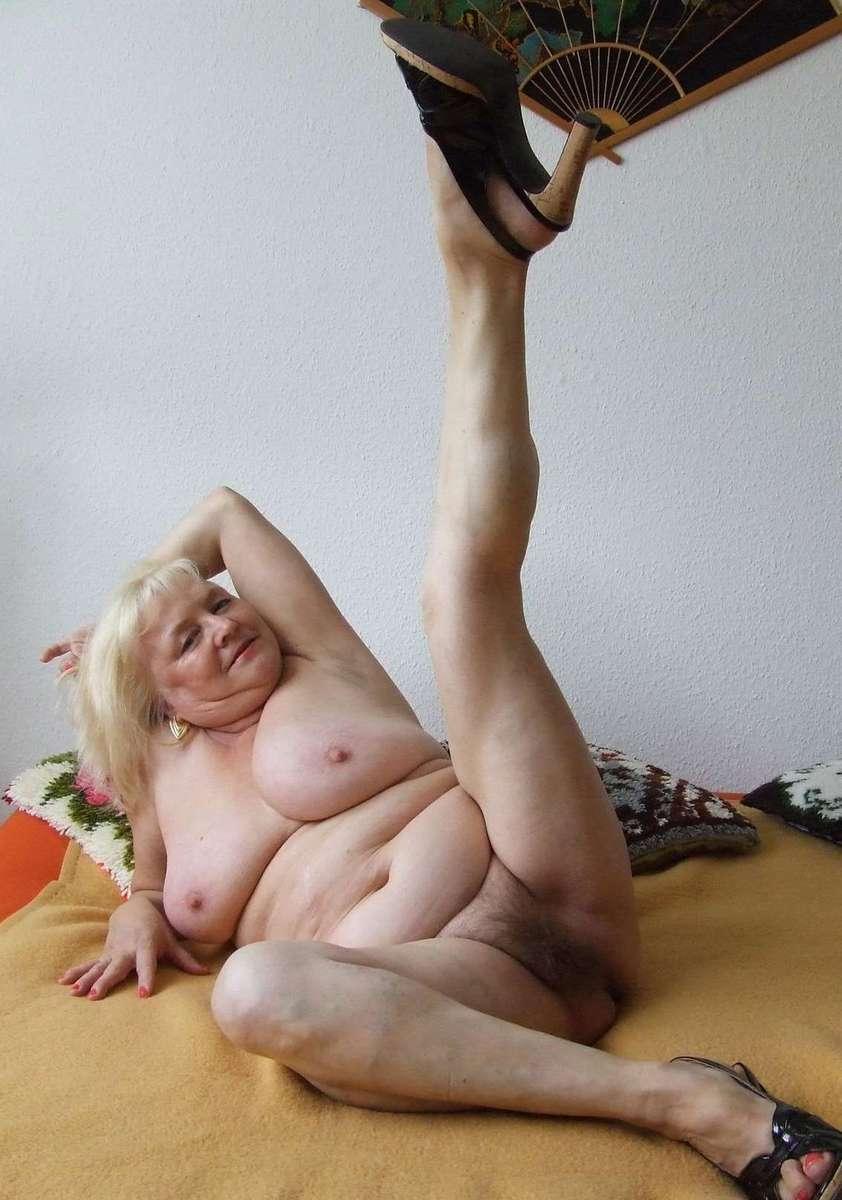 Sexy Omas Nackt