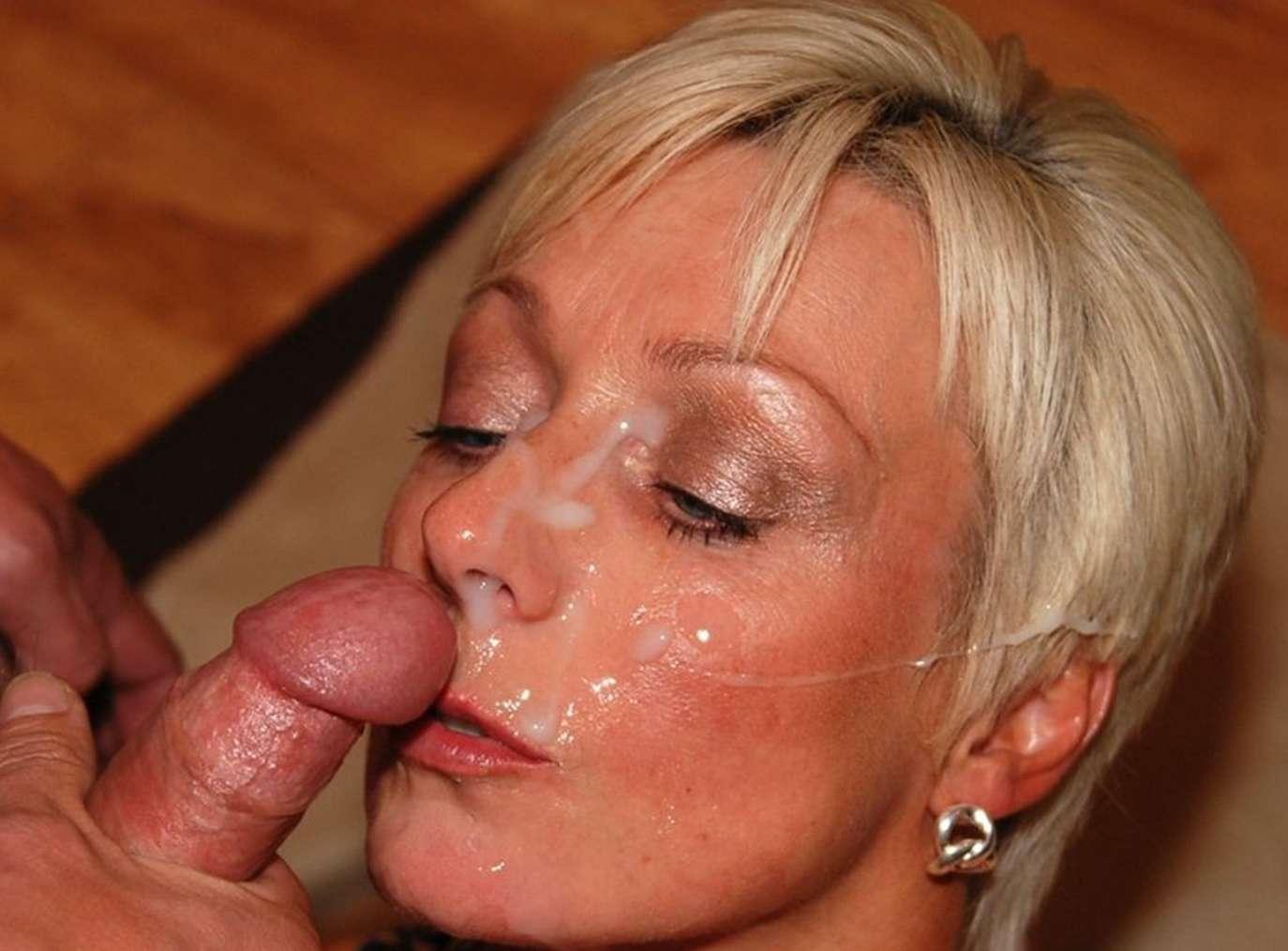 vieille blonde sperme (8)
