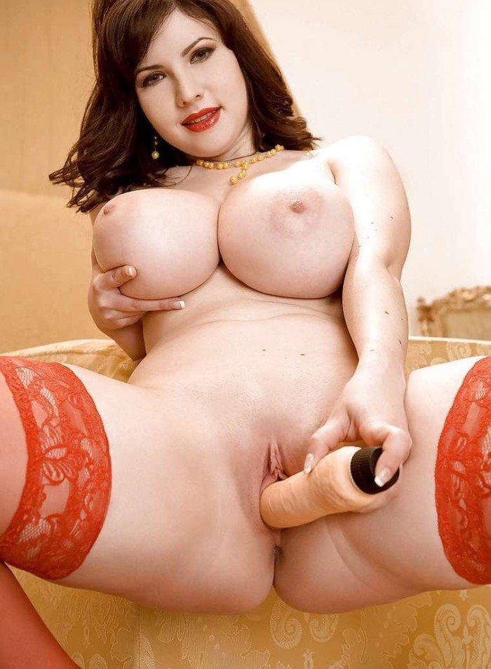 Belle milf avec des seins naturelles fantastique