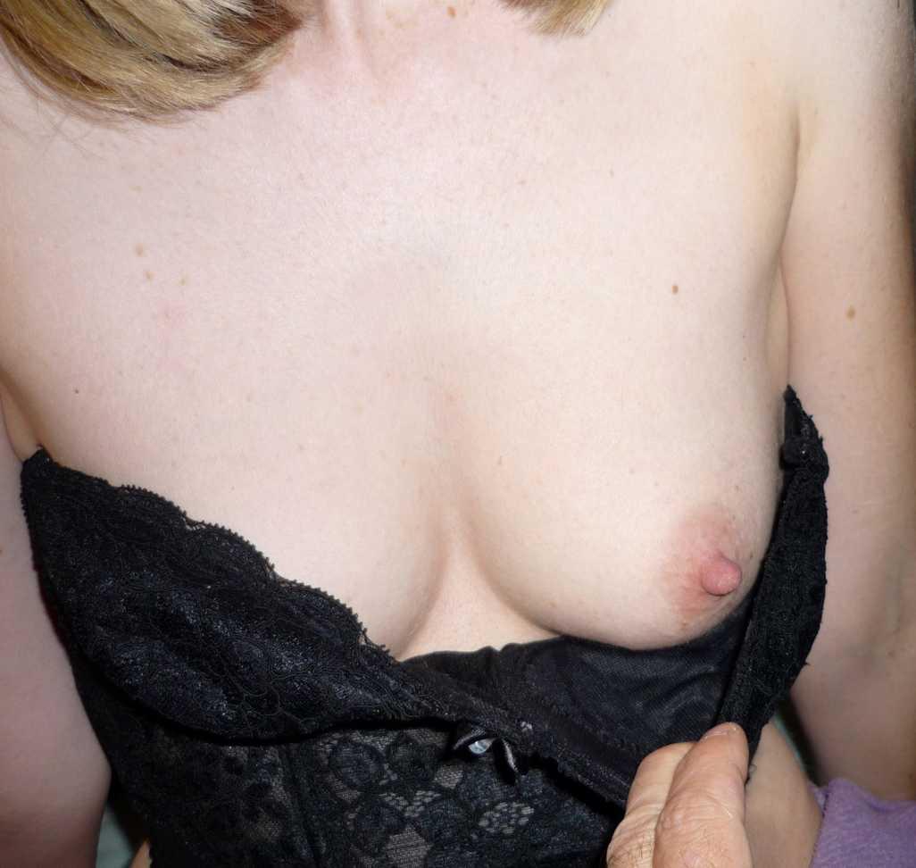 blonde sexy corset noir (110)