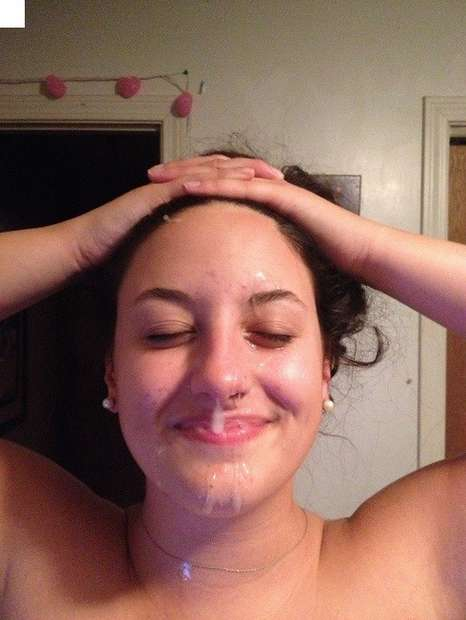 brune nue faciale (2)