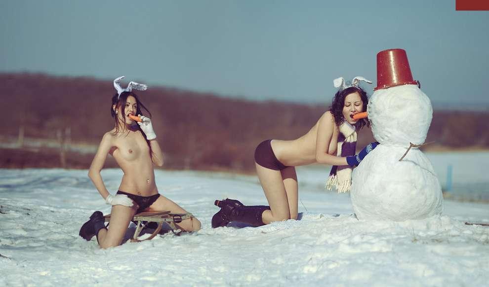 femme nue neige (22)