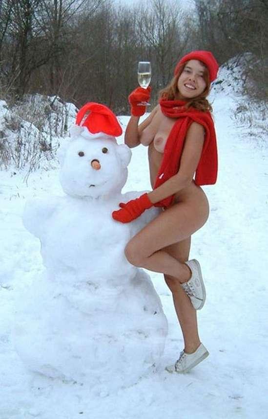 femme nue neige (4)