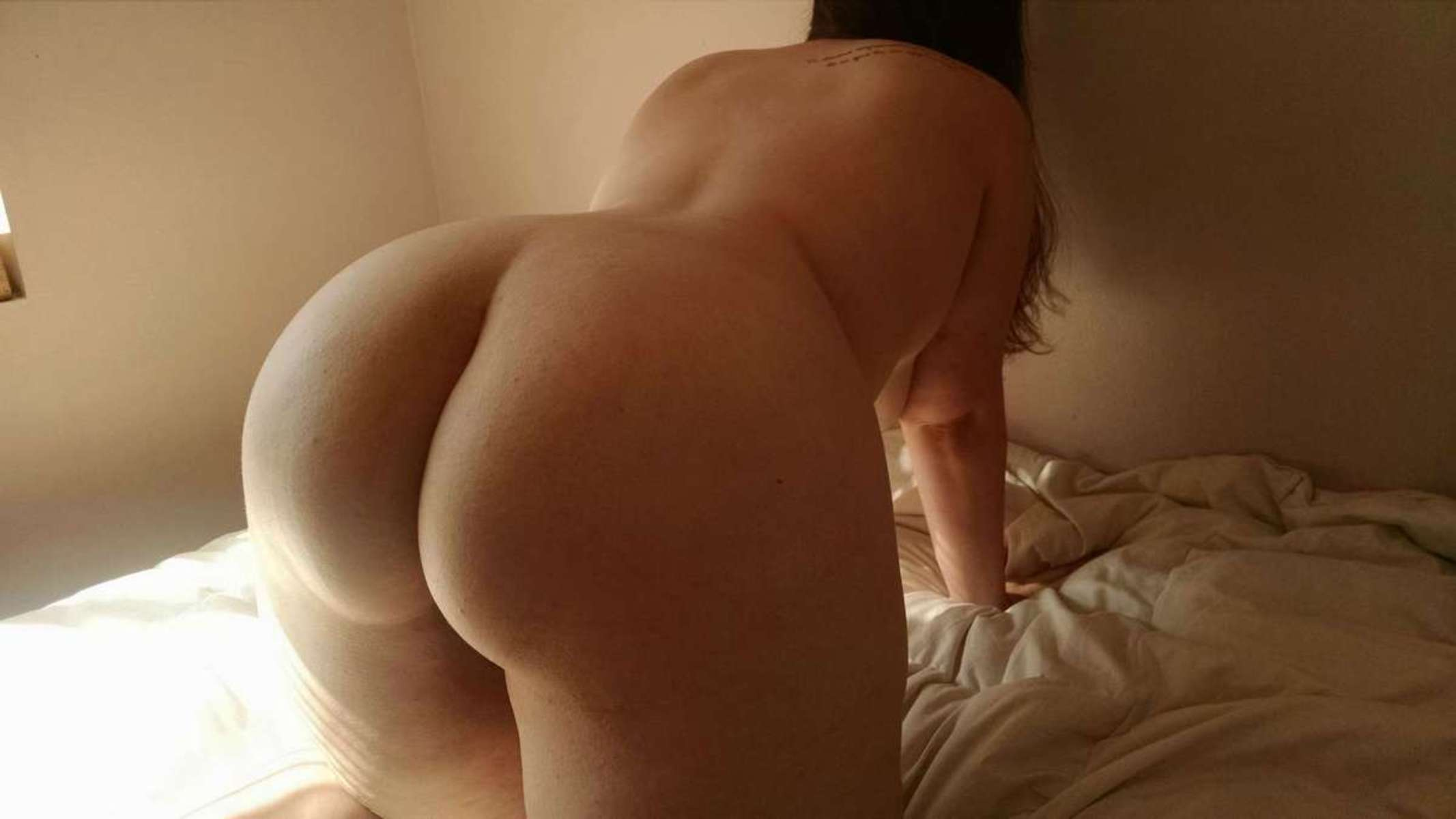 Mature asian butt