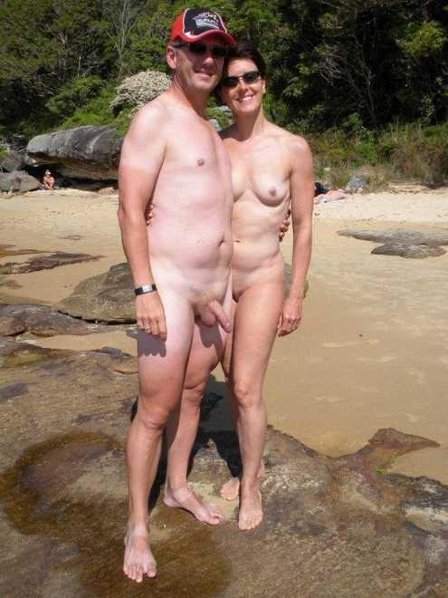 Think, mature nudist family at nude beach erection