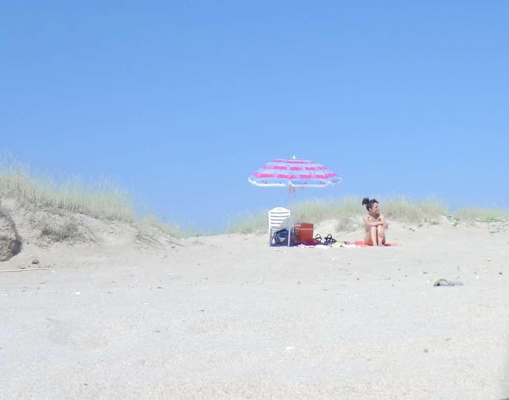 vieille brune plage voyeur (116)