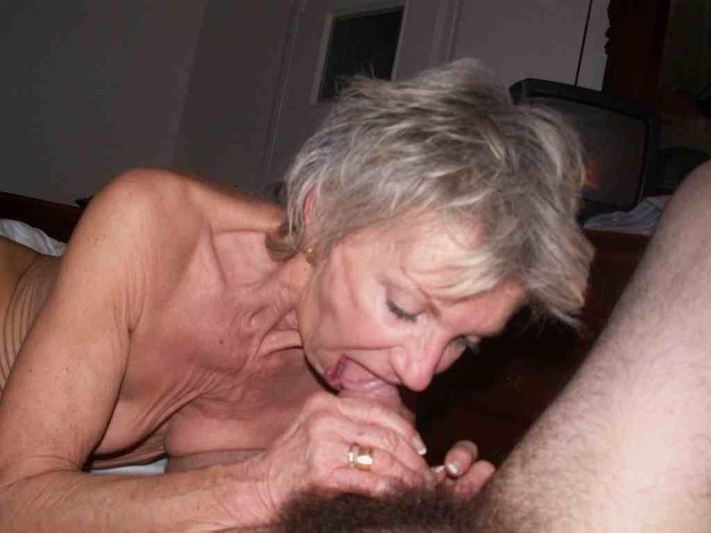 Les vieilles aussi elles aiment sucer, la preuve ...
