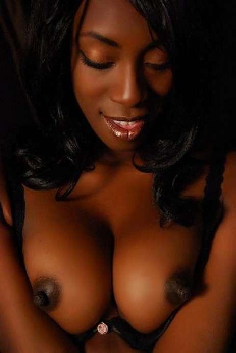 Dark black naked girls consider