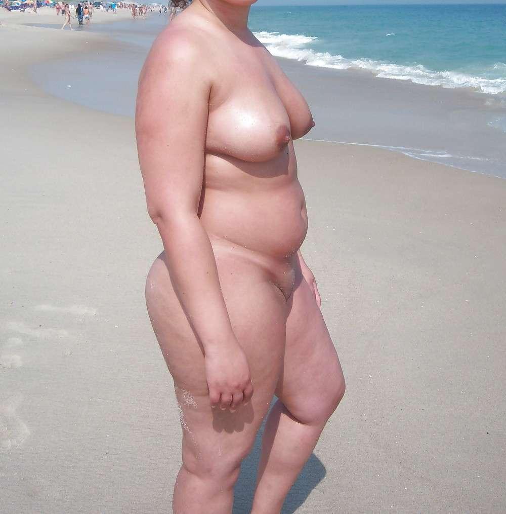 grosse mature nue plage (111)