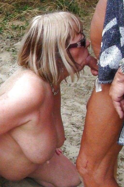 women nude beach Mature on