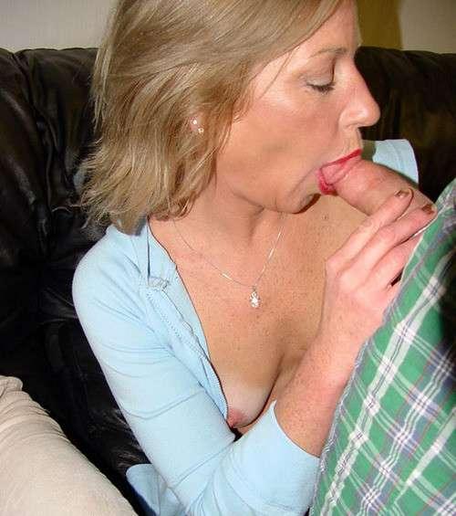 Hot moms suck son