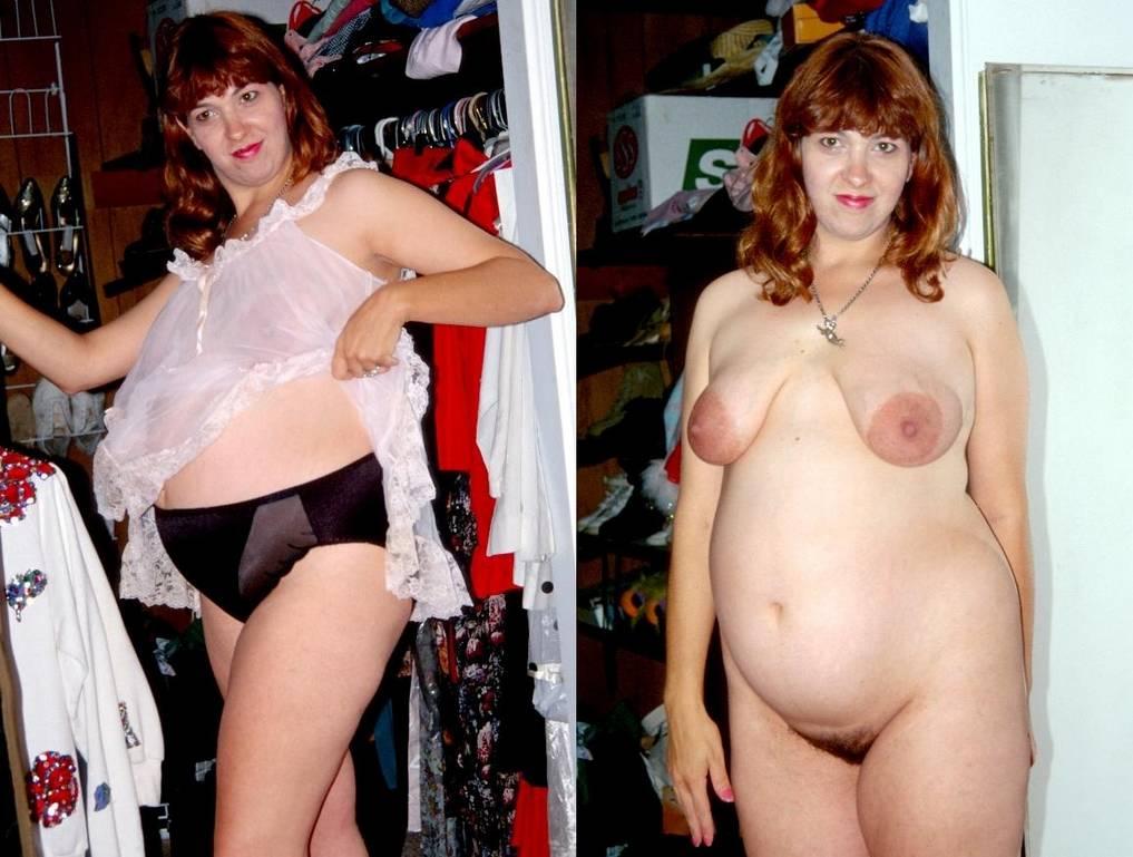 amatrice avant apres enceinte nue (7)