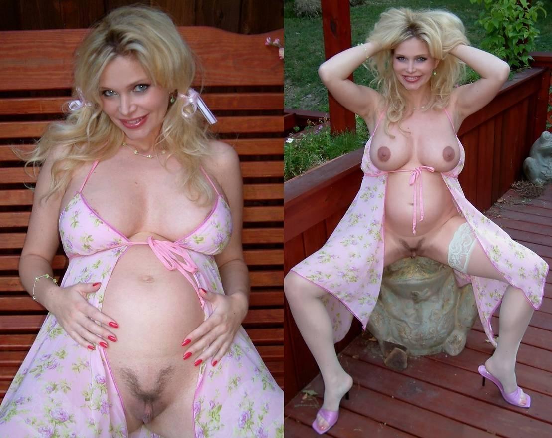 amatrice avant apres enceinte nue (8)