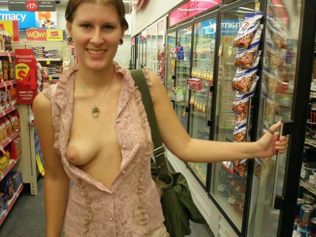 amatrice exhibe seins oops public (17)