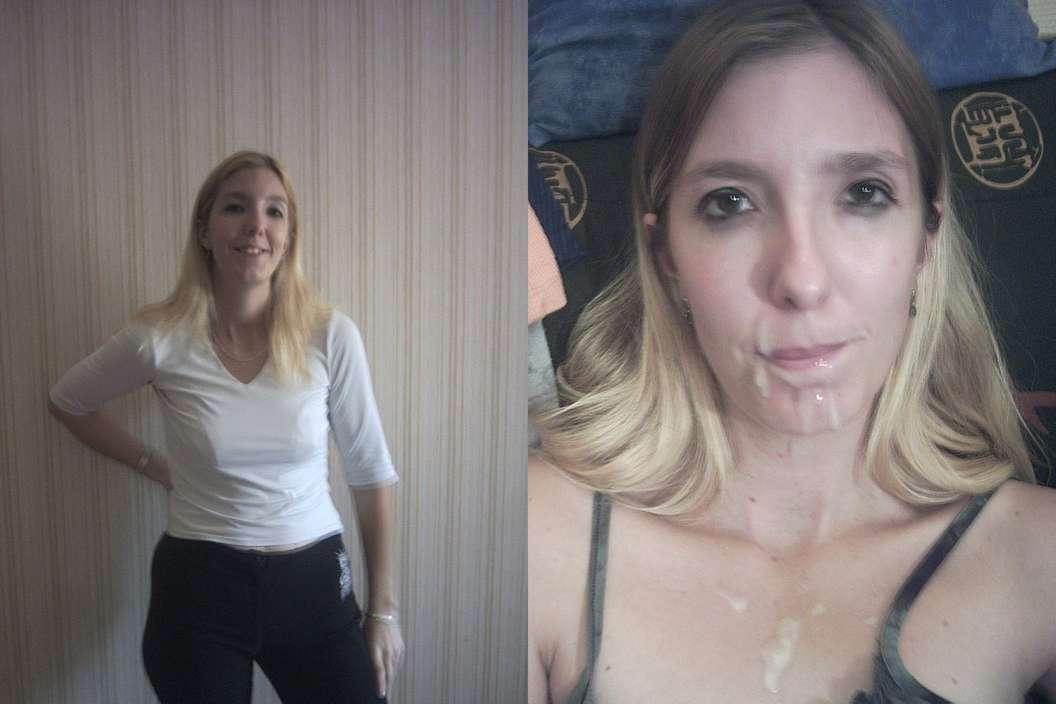avant apres ejac faciale amatrice (13)