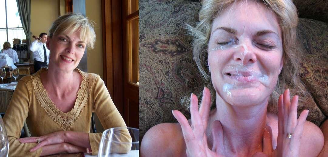 avant apres ejac faciale amatrice (5)