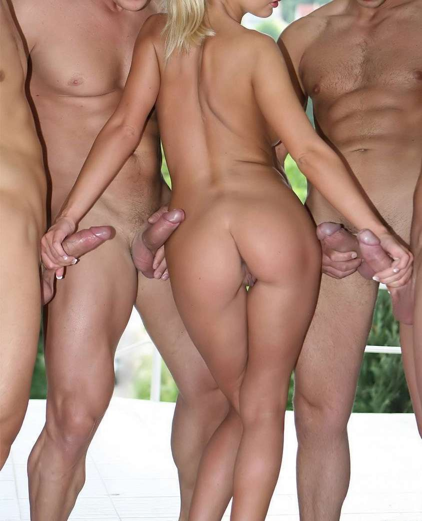 from Bodie two men one women naked