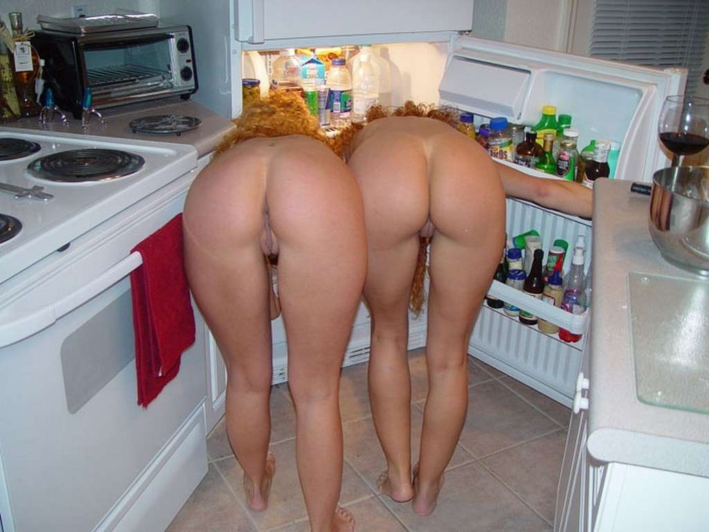 Naked cooking video