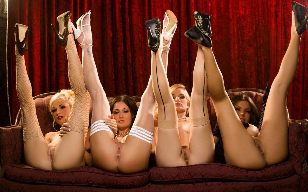 4 Filles Nues  La Fois, Cest Quand Mme Plaisant Non -7425