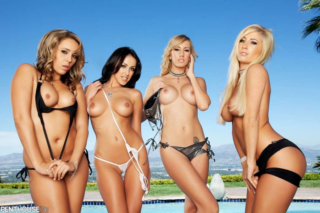 filles nues en groupe (2)